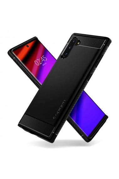 Husa Samsung Galaxy Note 10 Spigen Rugged Armor Black
