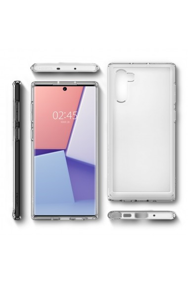 Husa Samsung Galaxy Note 10 Spigen Ultra Hybrid Crystal Clear