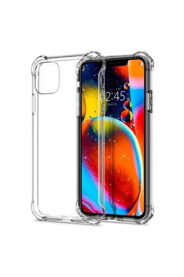 Husa iPhone 11 Pro Max Spigen Rugged Crystal Crystal Clear