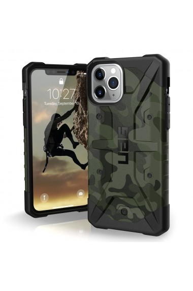 Husa iPhone 11 Pro UAG Pathfinder Series Special Edition Forest Camo