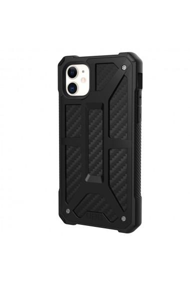 Husa iPhone 11 UAG Monarch Series Carbon Fiber