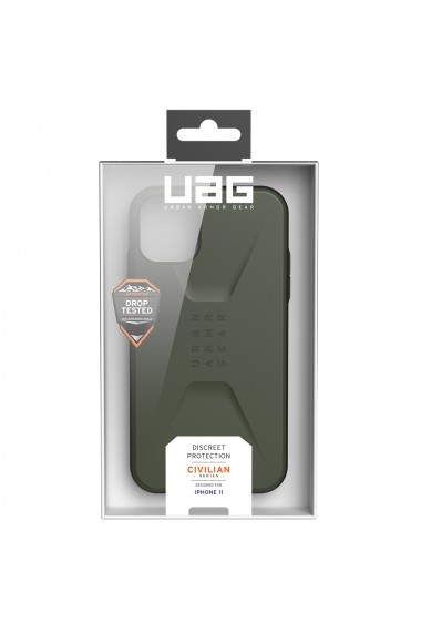 Husa iPhone 11 UAG Civilian Series Olive Drab
