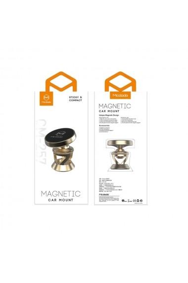 Suport Mcdodo Auto Magnetic Board 360 Gold (prindere cu adeziv)