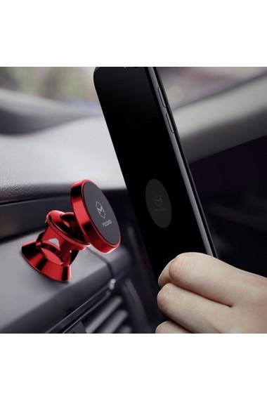 Suport Mcdodo Auto Magnetic Board 360 Red (prindere cu adeziv)