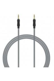 Cablu Jack 3.5mm Lemontti Audio Negru 1m