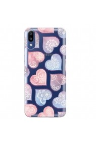 Husa Samsung Galaxy M10 Lemontti Silicon Art Hearts
