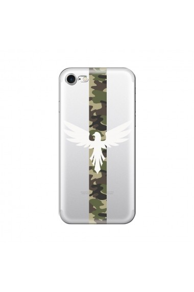 Husa iPhone SE 2 / 8 / 7 Lemontti Silicon Art Army Eagle