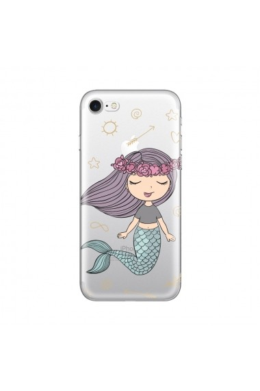 Husa iPhone SE 2 / 8 / 7 Lemontti Silicon Art Little Mermaid