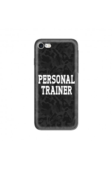 Husa iPhone SE 2 / 8 / 7 Lemontti Silicon Art Personal Trainer