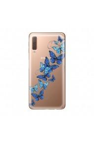 Husa Samsung Galaxy A7 (2018) Lemontti Silicon Art Butterflies