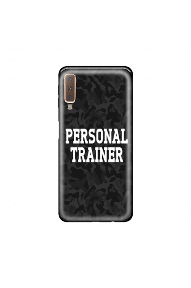Husa Samsung Galaxy A7 (2018) Lemontti Silicon Art Personal Trainer