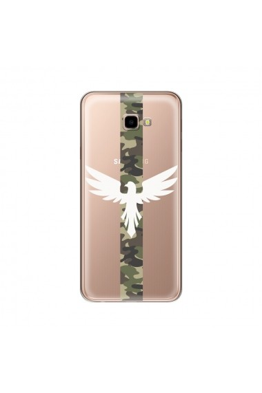 Husa Samsung Galaxy J4 Plus Lemontti Silicon Art Army Eagle