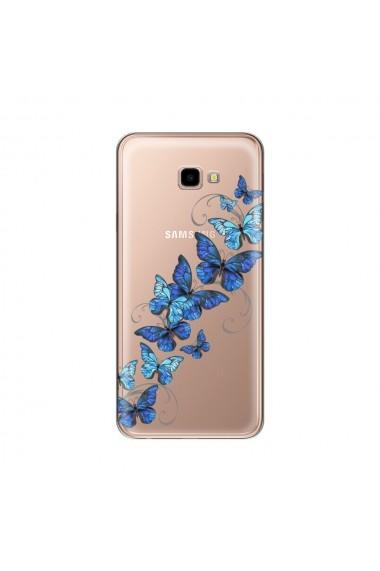Husa Samsung Galaxy J4 Plus Lemontti Silicon Art Butterflies