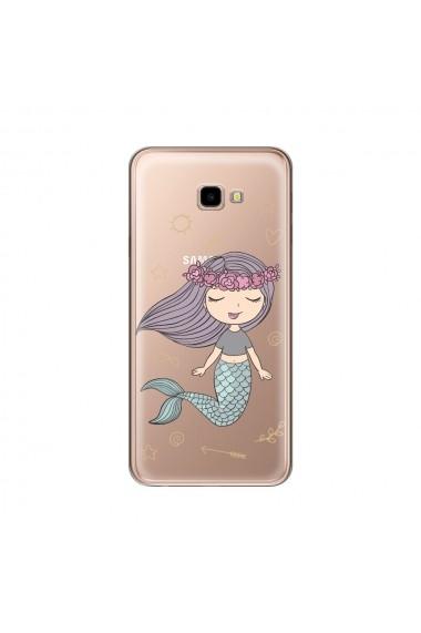 Husa Samsung Galaxy J4 Plus Lemontti Silicon Art Little Mermaid