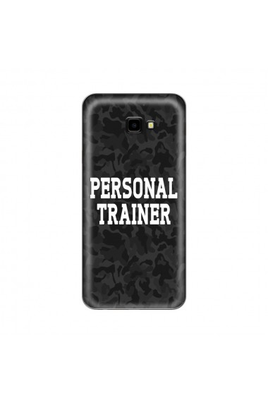 Husa Samsung Galaxy J4 Plus Lemontti Silicon Art Personal Trainer