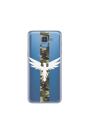 Husa Samsung Galaxy J6 (2018) Lemontti Silicon Art Army Eagle