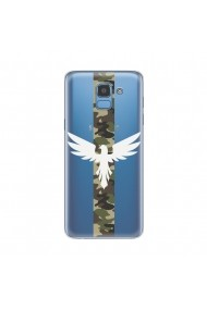 Husa Samsung Galaxy J6 (2018) Lemontti Silicon Art Army Eagle