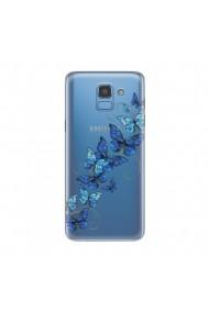 Husa Samsung Galaxy J6 (2018) Lemontti Silicon Art Butterflies