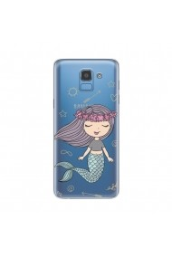 Husa Samsung Galaxy J6 (2018) Lemontti Silicon Art Little Mermaid