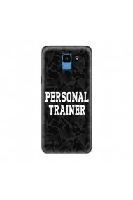 Husa Samsung Galaxy J6 (2018) Lemontti Silicon Art Personal Trainer