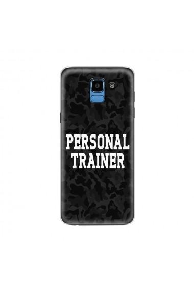 Husa Samsung Galaxy J6 (2018) Lemontti Silicon Art Personal Trainer