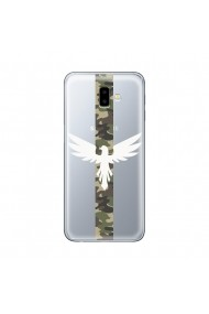 Husa Samsung Galaxy J6 Plus Lemontti Silicon Art Army Eagle