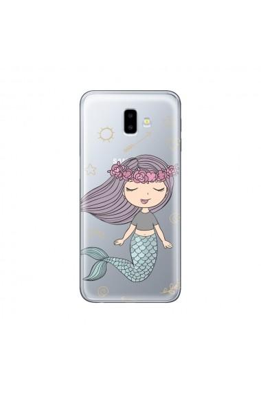 Husa Samsung Galaxy J6 Plus Lemontti Silicon Art Little Mermaid
