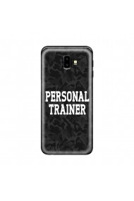 Husa Samsung Galaxy J6 Plus Lemontti Silicon Art Personal Trainer