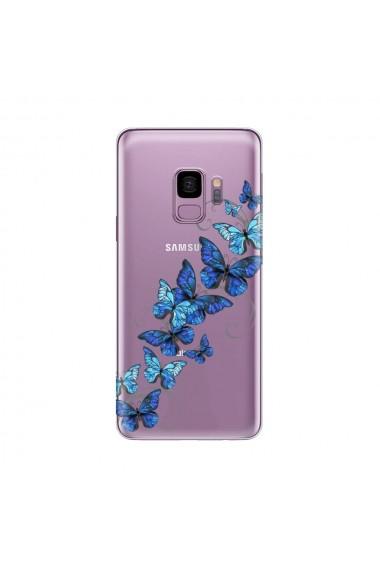 Husa Samsung Galaxy S9 G960 Lemontti Silicon Art Butterflies