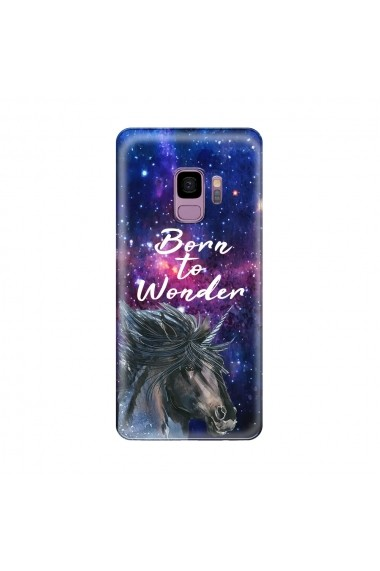Husa Samsung Galaxy S9 G960 Lemontti Silicon Art Born To Wonder