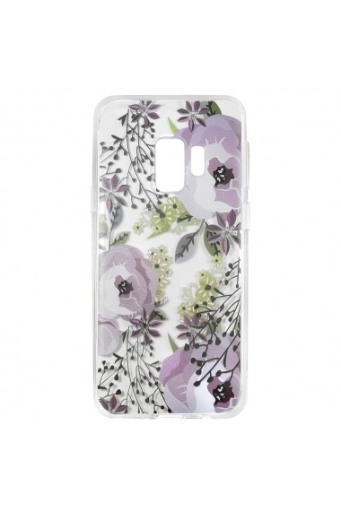 Husa Samsung Galaxy S9 G960 Lemontti Silicon Art Flowers