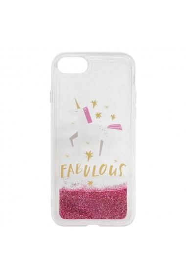 Carcasa iPhone 8 / 7 Lemontti Liquid Sand Fabulous Glitter