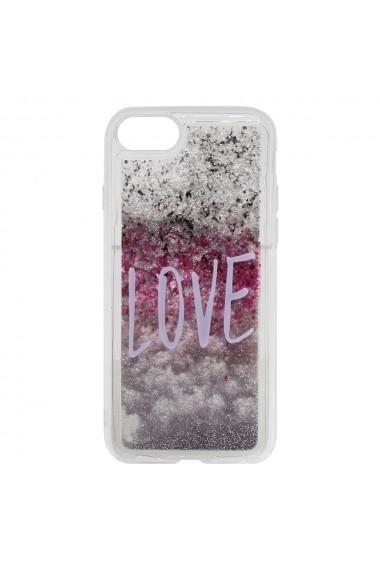 Carcasa iPhone SE 2 / 8 / 7 Lemontti Liquid Sand Love