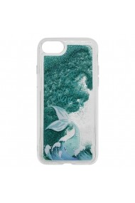 Carcasa iPhone 8 / 7 Lemontti Liquid Sand Be A Mermaid And Make Waves