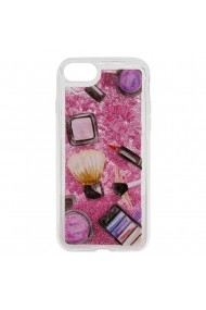 Carcasa iPhone SE 2 / 8 / 7 Lemontti Liquid Sand Makeup Glitter