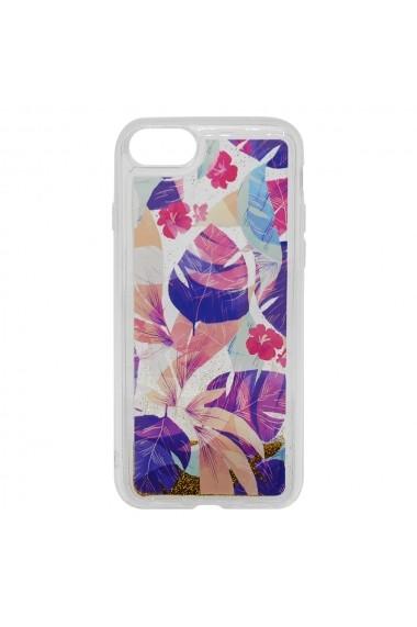 Carcasa iPhone SE 2020 / 8 / 7 Lemontti Liquid Sand Floral Sunset