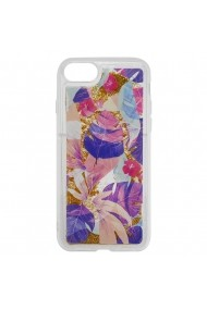 Carcasa iPhone SE 2020 / 8 / 7 Lemontti Liquid Sand Floral Sunset