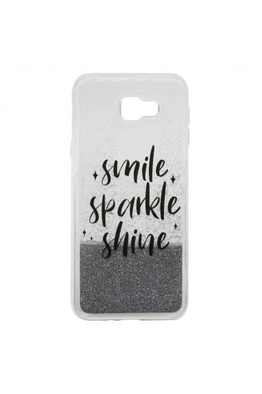 Carcasa Samsung Galaxy J4 Plus Lemontti Liquid Sand Smile  Sparkle  Shine