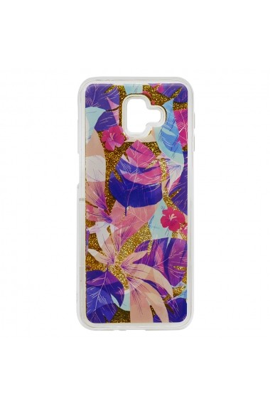 Carcasa Samsung Galaxy J6 Plus Lemontti Liquid Sand Floral Sunset