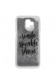 Carcasa Samsung Galaxy J6 Plus Lemontti Liquid Sand Smile  Sparkle  Shine