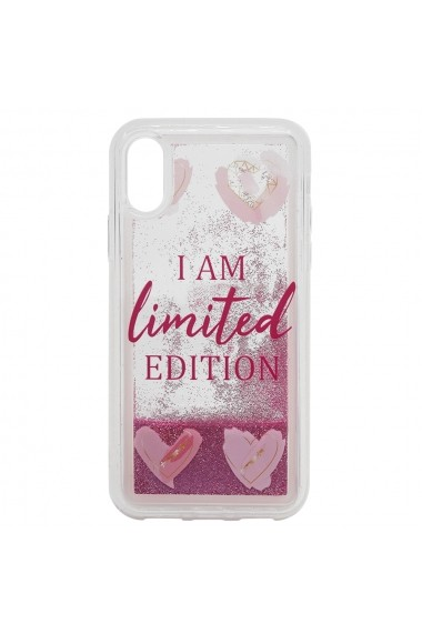 Carcasa iPhone XS / X Lemontti Liquid Sand I Am Limited Edition