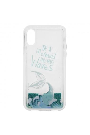 Carcasa iPhone XS / X Lemontti Liquid Sand Be A Mermaid And Make Waves