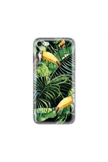 Husa iPhone SE 2 / 8 / 7 Lemontti Silicon Art Tropic