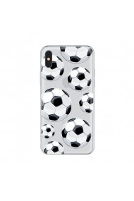 Husa iPhone X Lemontti Silicon Art Football