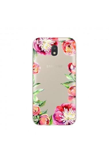 Husa Samsung Galaxy J5 (2017) Lemontti Silicon Art Spring Flowers