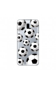 Husa Samsung Galaxy J6 Plus Lemontti Silicon Art Football