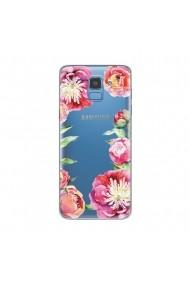 Husa Samsung Galaxy J6 (2018) Lemontti Silicon Art Spring Flowers