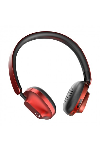 Casti Wireless (Bluetooth) Baseus Encok D01 Red