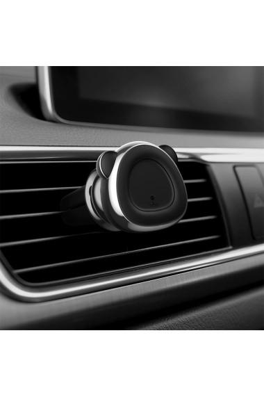 Suport Baseus Auto Magnetic Bear Silver & Grey