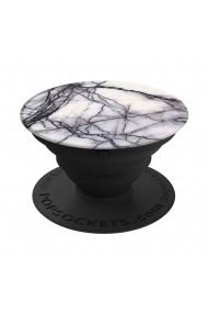 Suport Universal Popsockets Stand Adeziv White Marble